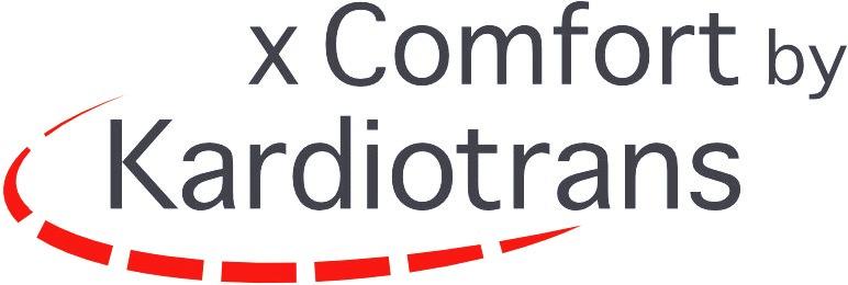x Comfort by Kardiotrans  Krankentransport Herztransplantation Lungentransplantation Kunstherz VAD LVAD